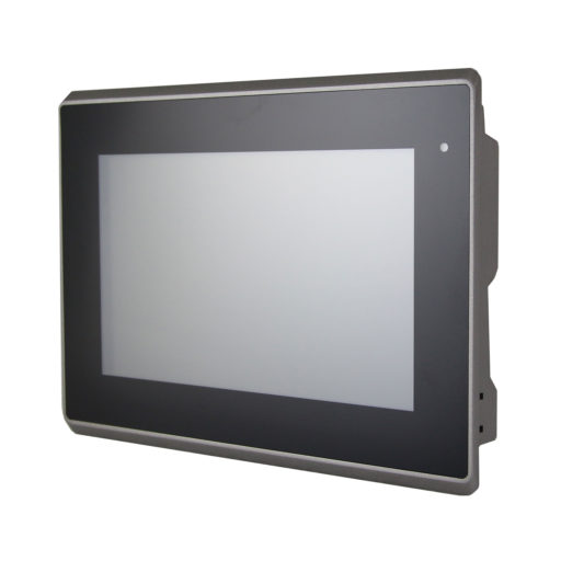 "Industrie Monitor: AADP-107R 7"" Flat Resistive Touch Monitor IP65 Front"