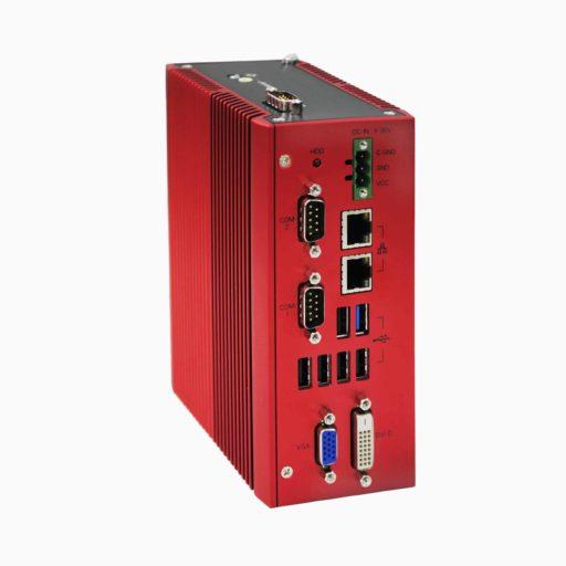 Box PC: BPC-300-AR5300WT Quad Core DIN Rail Wide Temperature