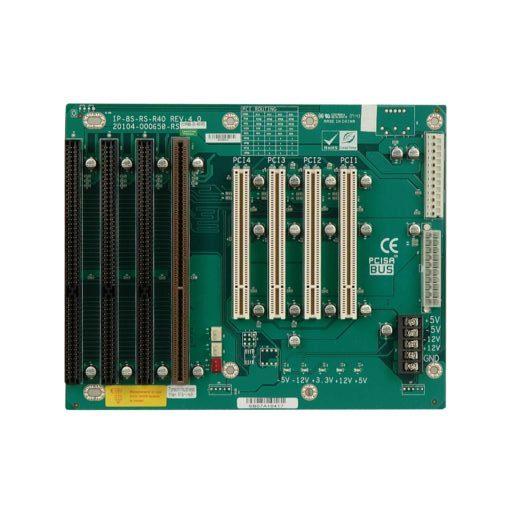 IP-8S-RS backplane passive Busplatine PISA 3 ISA 4 PCI