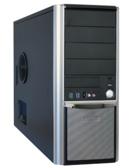 IPC-525-M98A9 High-End Midi Tower Industrie PC Core i3/i5/i7 1x ISA 5x PCI, PCEex16 PCIex4 6x COM