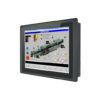 Multi-Touch Panel PC schwarze Front